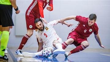 Telpu futbola izlase aizvadīs pārbaudes maču pret Spāniju