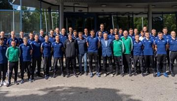 Rīgā aizvadīts FIFA seminārs tiesnešiem, inspektoriem un tiesnešu instruktoriem