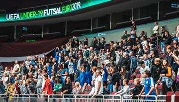 U-19 telpu futbolistiem ielozē Horvātiju, Baltkrieviju un Azerbaidžānu