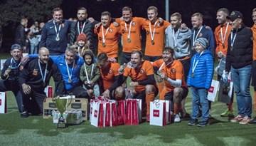 Sadalīti visi Rīgas minifutbola čempionāta medaļu komplekti