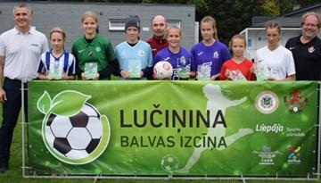 Lučiņina kausu izcīna FK Olaine meitenes