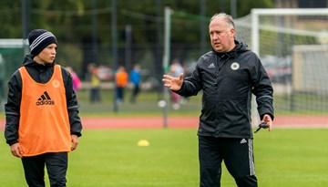 J. Pučinsks: Galvenais uzdevums - parādīt kvalitatīvu futbolu