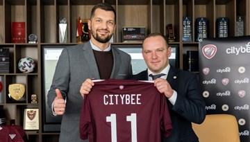"""LFF uzsāk sadarbību ar """"CityBee"""""""
