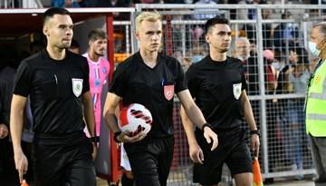 UEFA programmā apmācības noslēgusi Latvijas tiesnešu brigāde