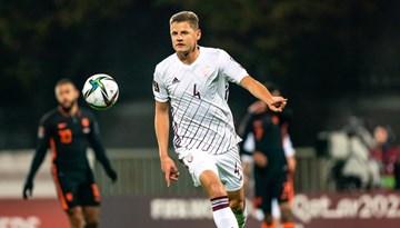 Pret Nīderlandi cīņas gara bagātā spēlē zaudējums ar 0:1