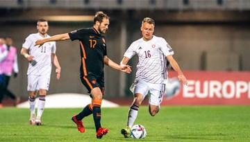 A. Jaunzema un E. Emša komentāri pēc spēles ar Nīderlandi