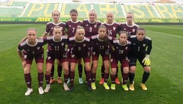 WU-19 meitenes nenosargā vadību pret Horvātiju